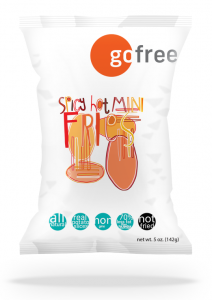 go free® Spicy Hot Mini Fries