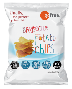 go free® barbecue potato chips