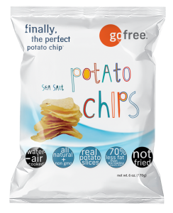go free® sea salt potato chips